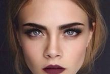 Make Up / The Lazov Agency girls know how to rock a great smoky eye and a sexy nude lip.  It's how we roll.