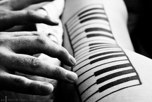 Music, ink. / Beautiful and creative music inspired tattoos. / by Rhapsody