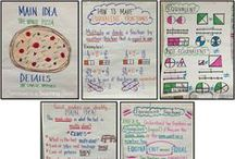 Anchor Charts / A collection of some of my favorite anchor charts for the classroom.