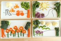 playing with food / fun food creations your kids will love #foodart #kidsinthekitchen