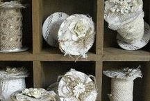 Vintage Lace and Fabric  / by Becky Hunter
