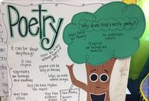 Poetry Ideas / Ideas for teaching poetry in the elementary classroom