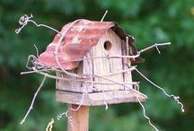 Birdhouses / Vogelhuisjes