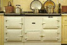 AGA cooker