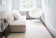 Spare room / Neutral, soft tones, calm and cosy / by Chloe Rushworth