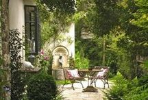 Exteriors / Walls, Patios, Courtyards, Gardens...