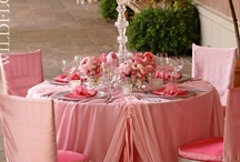 Sitting with Class / table linens, chair covers, sashes, table settings, napkins and more. / by Camille Barnes