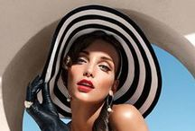 Hats - Chapeaux / All kinds of hats in all kinds of materials, shapes and colors.....