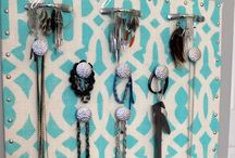 Jewelry Displays I Love / Clever ways to display your gems! / by Chantel Gia