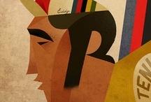 Cyclisme de mon papa / by gangan des  champs