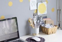 OFFICE SPACE / offices & desk accessories that inspire creativity / by allisa jacobs