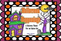 Halloween / Ideas and teaching resources for Halloween and the month of October