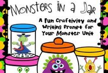 Monsters / Ideas, resources, crafts, and other goodies for teaching a Monsters Unit