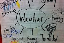 Weather / Ideas, resources, and links for teaching about Wether / by Confessions of aTeaching Junkie