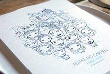 Láminas Rite Rite / Ilustraciones creadas por Rite Rite design