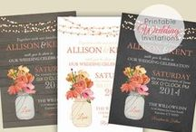 Wedding Invitations  / by Sienna Searle