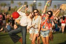 Festival Fashion / Style and inspiration for summertime music & art festivals