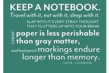 Commonplace book & Bullet journal