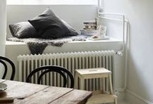 White / White Rooms . White Furniture . Interior / by Stephanie Dockhorn
