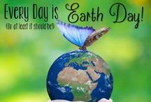 Every Day is Earth Day! / Ideas for teaching about Earth Day, ecology, and recycling.  Links for books, recycled art, teaching products, video links and more!