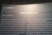 Resonancias. Iñaki Domingo y Ding Musa en #ArteTabacalera / Hemos hecho una visita guiada con Iñaki Domingo a la exposición Resonancias que en #ArteTabacalera expone obras suyas y de Ding Musa. Con público y retransmitida por twitter - #ResonanciasIñakiDomingo - en este tablero reconstruimos esa experiencia.