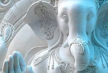 Om Gam Ganapataye Namaha / Have a bit of a 'thing' about Ganesh.   Read my blog post here:  http://exmoorjane.com/obstacles-lord-ganesha/