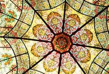 Art*Glass~Stained & Leaded / Stained, leaded and  art glass windows  / by Cathy Kent