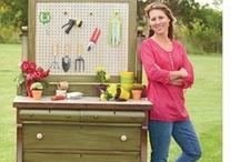 DIY recycle tuintips - recycle and upcycle gardening tips / Creatieve manieren om gebruikte producten in je tuin te verwerken -  Creative ways to reuse household items in yourgarden