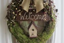 Kransen - flower wreaths / Geweldige en inspirerende foto's van bloemenkransen - Great inspiring photos of flower wreaths