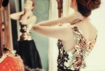 Evening Style / Evening Wear  #dresses #heels #dollup #datenight #evening #attire #wear / by Living the Gourmet