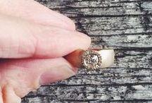 Kate Ellen Vow / Engagement, wedding and commitment jewelry handmade by Kate Ellen in her Oakland Studio Crown Nine.