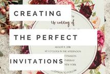 Invitation Tips & Guidelines / Wedding & Event Invitation Guidance!