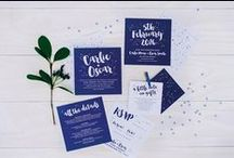 Of Paper Invitations and Wedding Treats / Wedding stationery inspiration