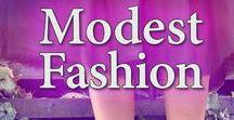 Modest Dresses & Fashion / Modest Dresses & Modest Fashion doesn't mean looking frumpy -- not for your wedding, swimsuits, or everyday wear!