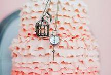 wedding cake / wedding cake magnolia gardenia gumpaste