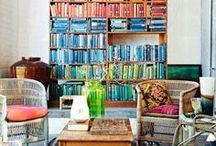 Bookish Spaces / Where books live