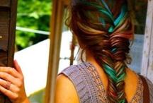 make me over / make up, hair, nail art. / by Katarina Lushkevich