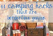 Outdoors + Tents + Friends = Camping! / by Shelby Panzarini