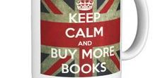 Bookish - Keep Calm / Keep calm for readers and writers