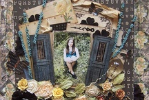 Scrapbook #5 - (Heritage) / scrapbook heritage pages  / by Janice Robinson