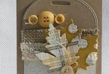 Tags & ATC #5 / tags & artist trading cards  (ATC) / by Janice Robinson