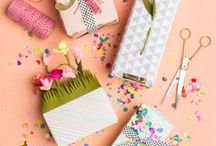 Packaging / Pretty packaging, DIY gift wrap, cool packages, and more.