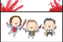 Team Gilmore, Winchester, Stinson, & Cary / by The Vox