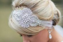 Of Veils & Hairpieces / Beautiful veils & hairpieces for weddings