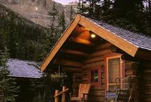 Cottage, Cabins and Sheds / Small places to create, garden and relax in ~ / by Rebecca C