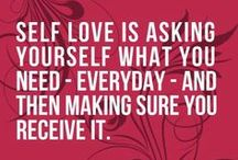 Self-love & Self-care / by Stina Glaas