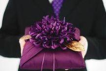 purple fall wedding / planning for my cousins wedding!!!