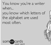You know you're a writer when / Writing problems