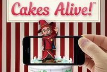 Cakes Alive! / Cakes Alive! birthday cakes really are unreal! Every Ferguson Plarre cake is created with a little bit of magic but with a Cakes Alive! cake, we've added some extra wizardry inside. Simply purchase a Cakes Alive! cake, download the app, point it at your cake and it will literally come to life. There are three unreal Happy Birthday animations to choose from including fireworks, balloons and the amazing boy wizard.