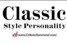 Classic Style Personality